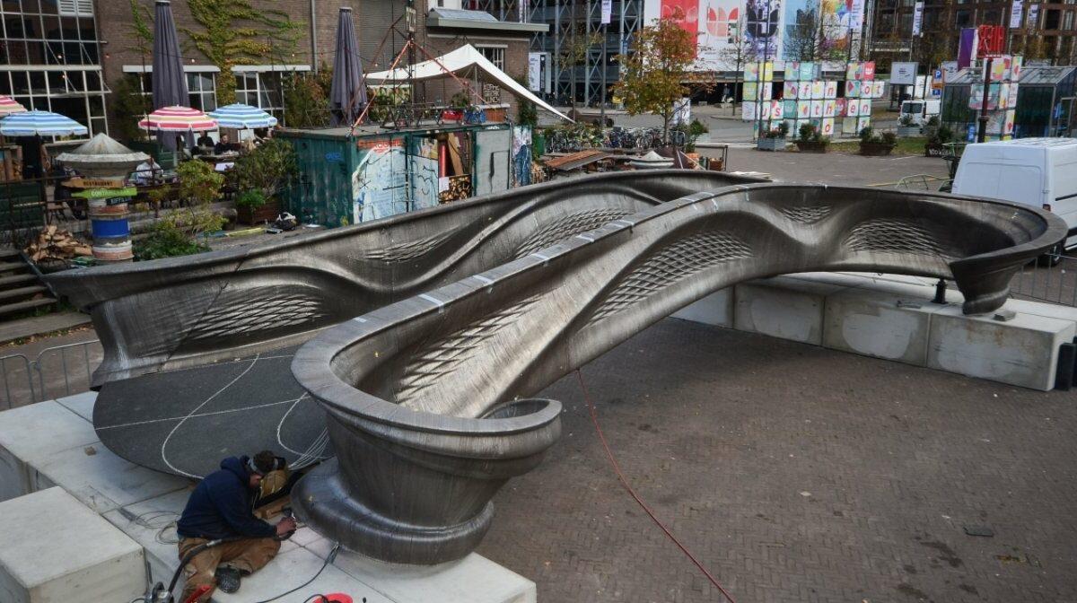 Die erste 3D-gedruckte Brücke