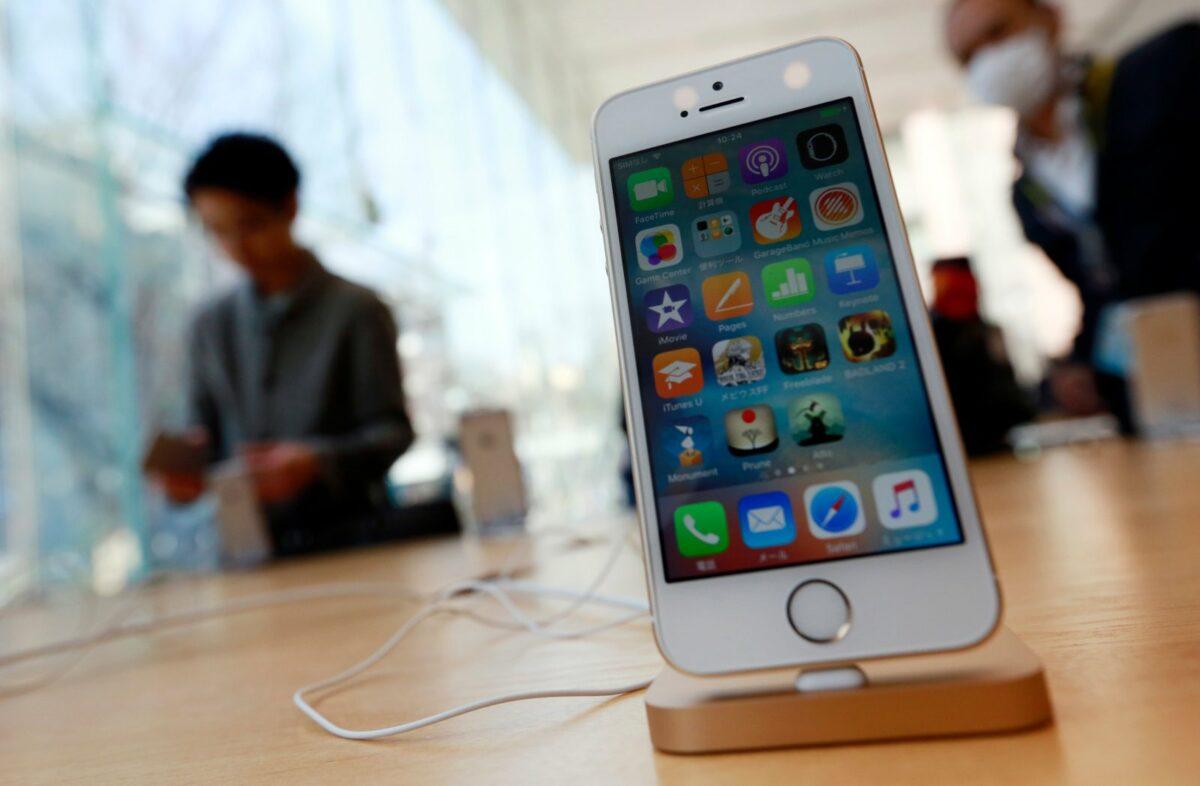 Ein iPhone SE.