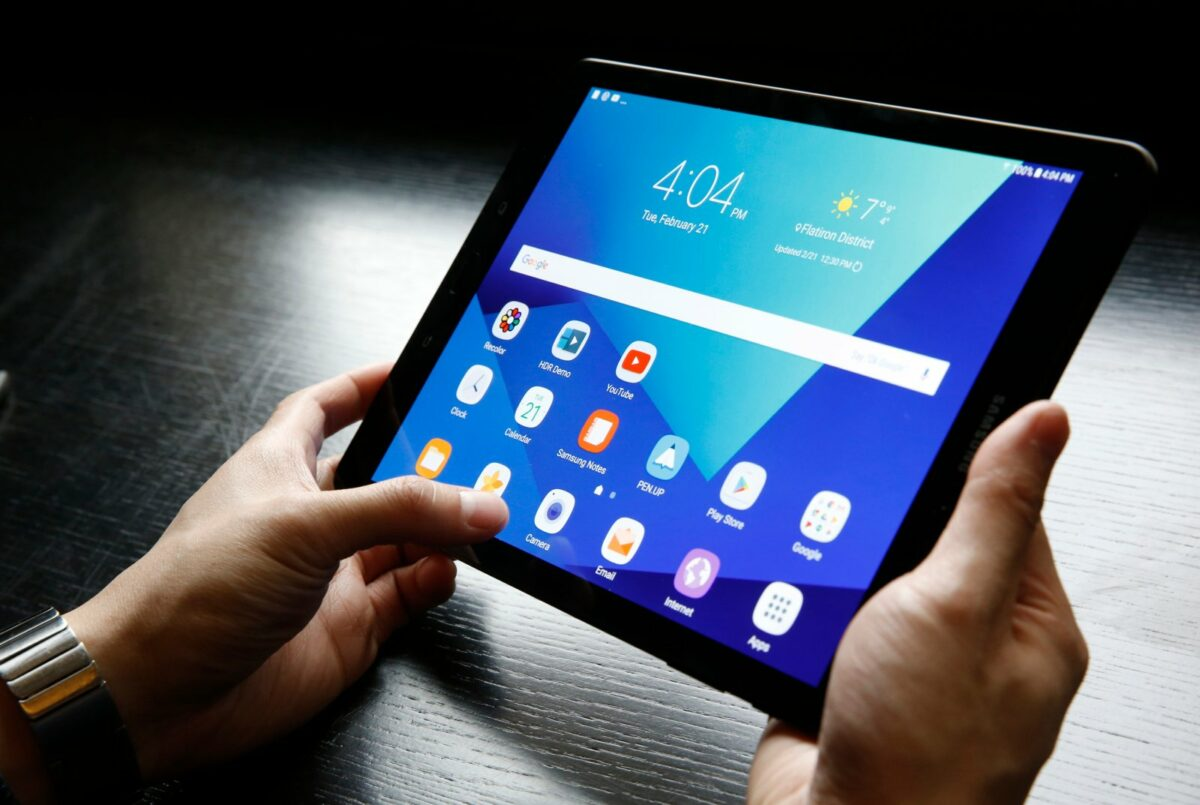 Ein Android-Tablet
