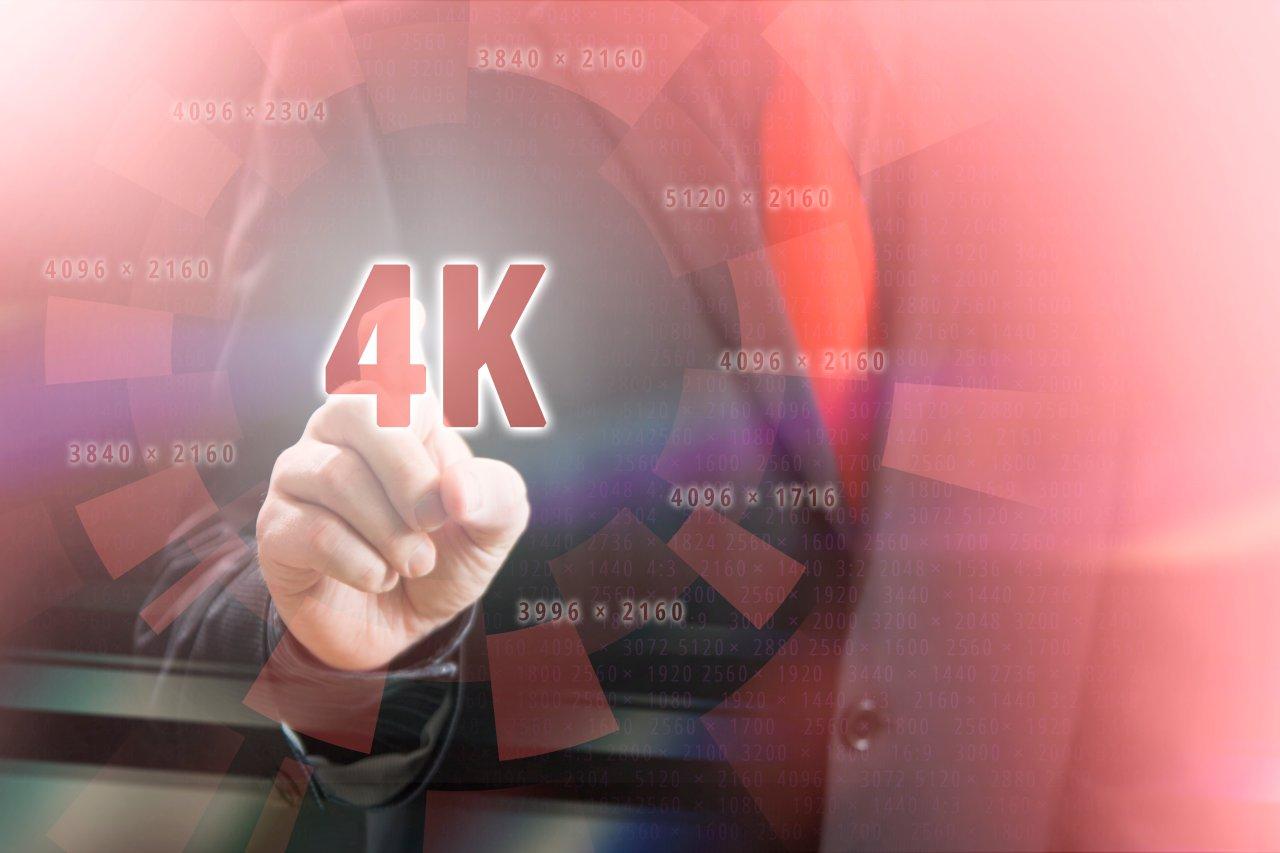 Von der 4K-Auflösung ist UHD nicht weit entfernt.
