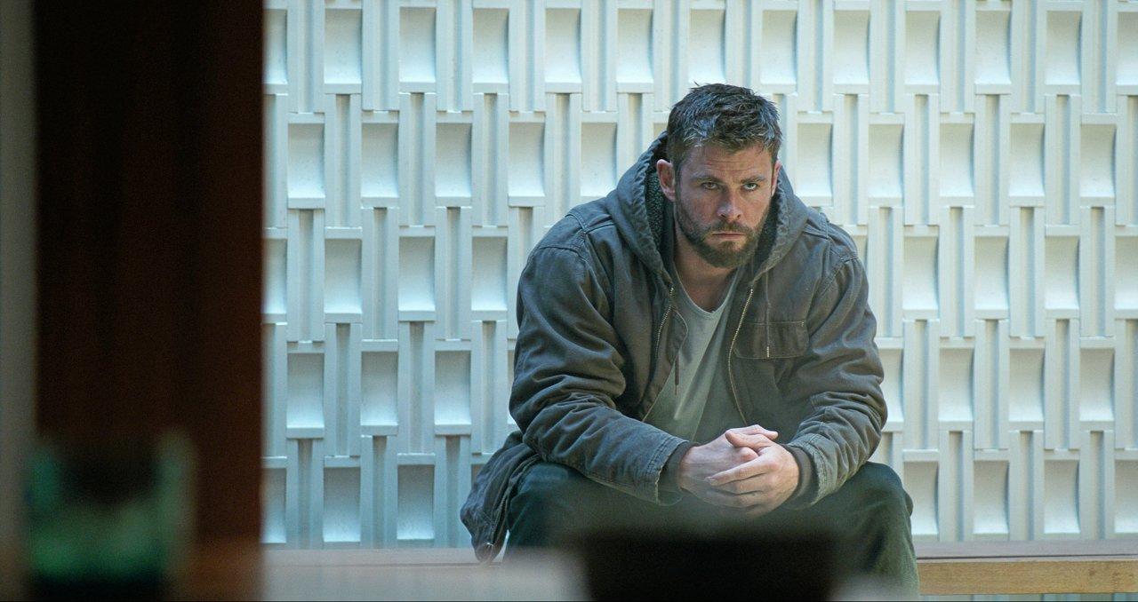 Thor (Chris Hemsworth) hätte ein Besuch in Caps Selbsthilfegruppe wohl auch nicht geschadet.