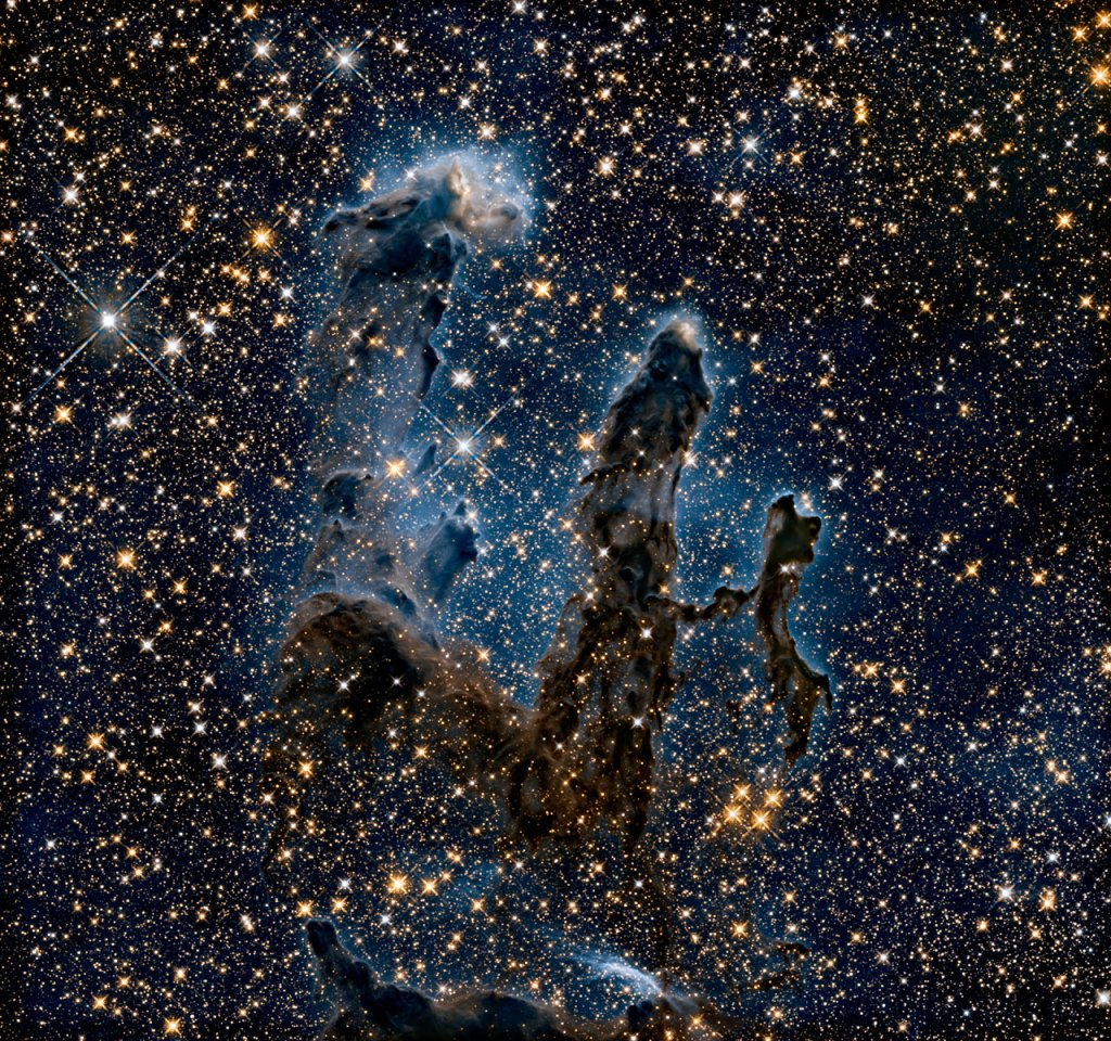 Das neueste NASA-Bild des Adlernebels ist völlig ungewohnt.