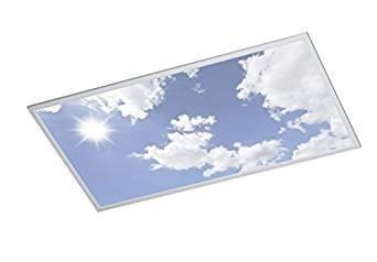 Das Bild der Himmels-Deckenleuchte verspricht mehr, als das Produkt halten kann.