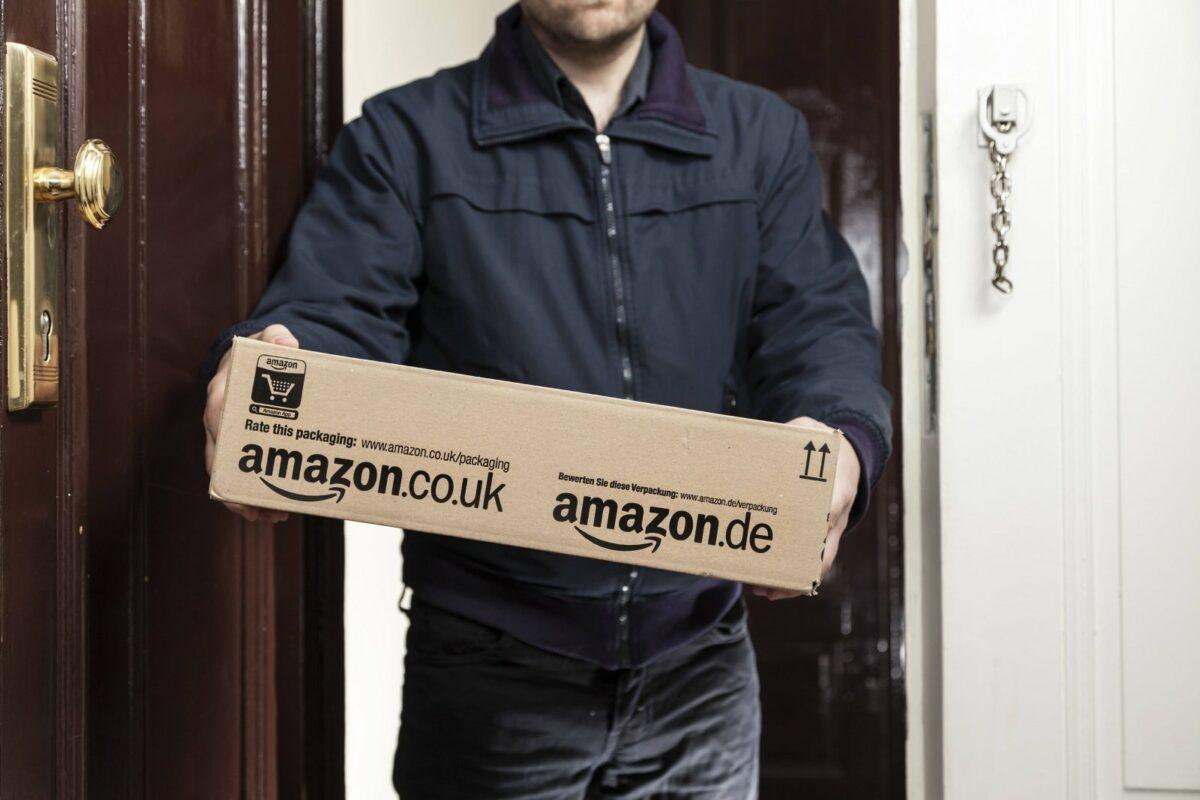 Amazon-Paket-Lieferung