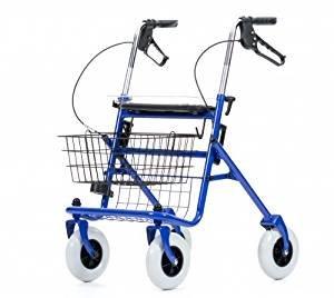 Nicht nur für Senioren praktisch: der Rollator.