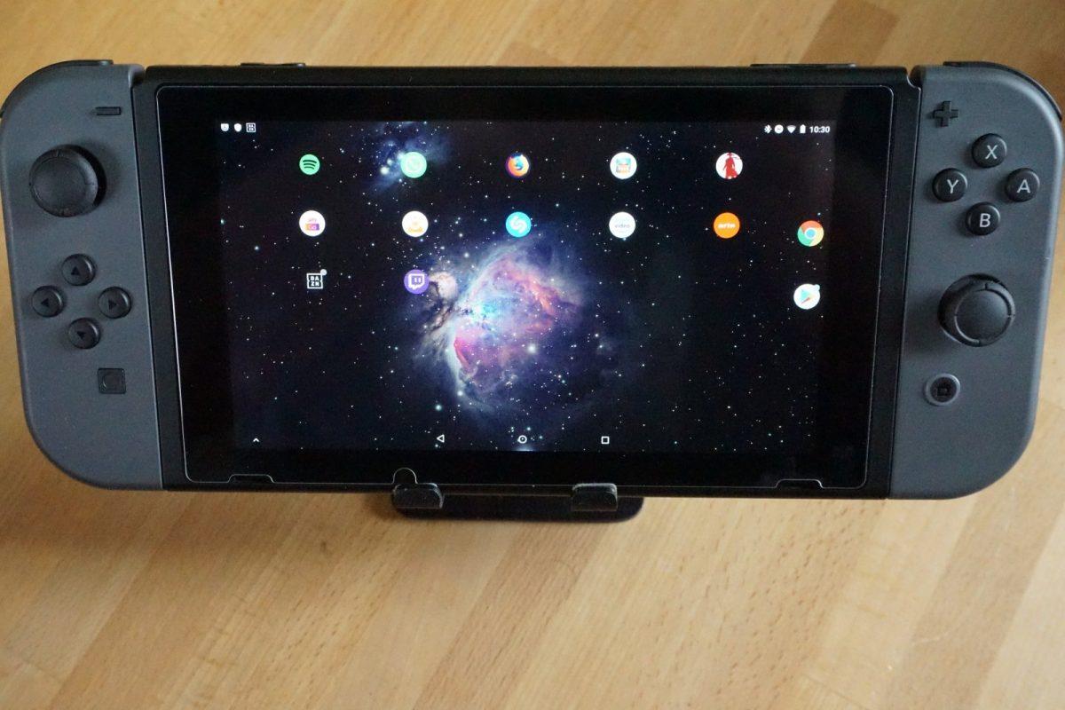 Android auf Nintendo Switch