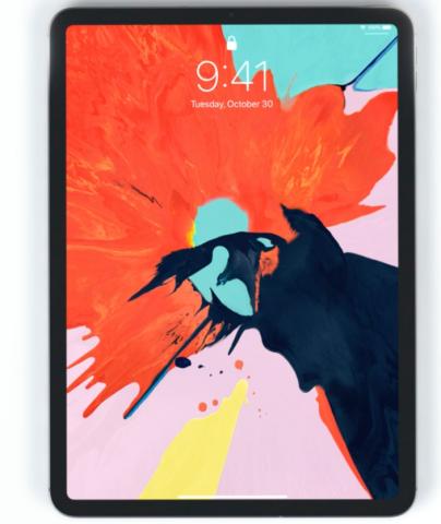 Das Design des neuen iPads erinnert an das iPhone X – nur ohne den ungeliebten Notch.