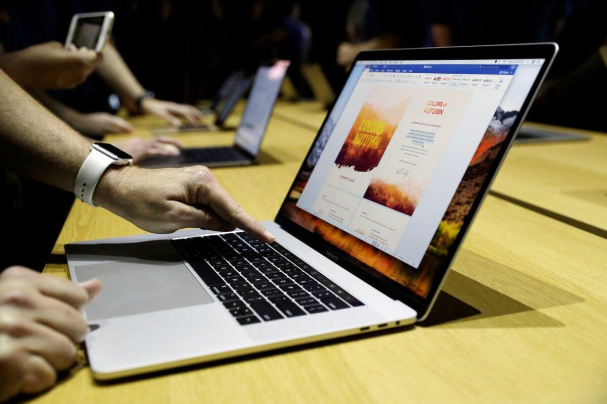 Ein MacBook Pro mit Butterfly-Keyboard.