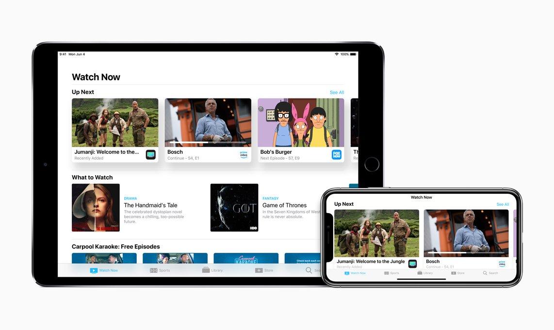 Du kannst auch dein iPad oder iPhone als Fernbedienung für Apple TV verwenden.