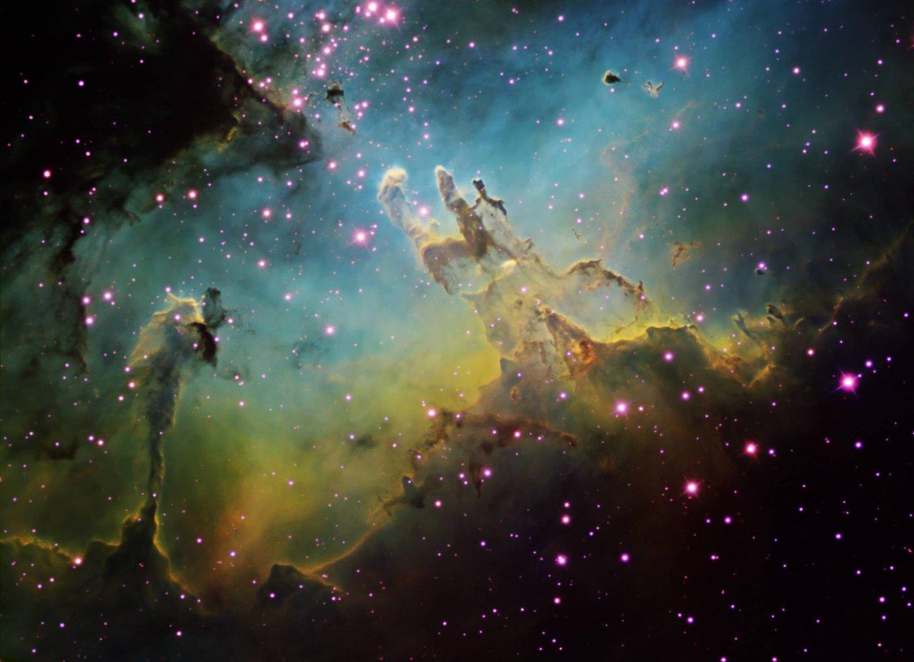 Weißt du,was auf diesem Bild unseres Astronomie-Quiz dargestellt wird?