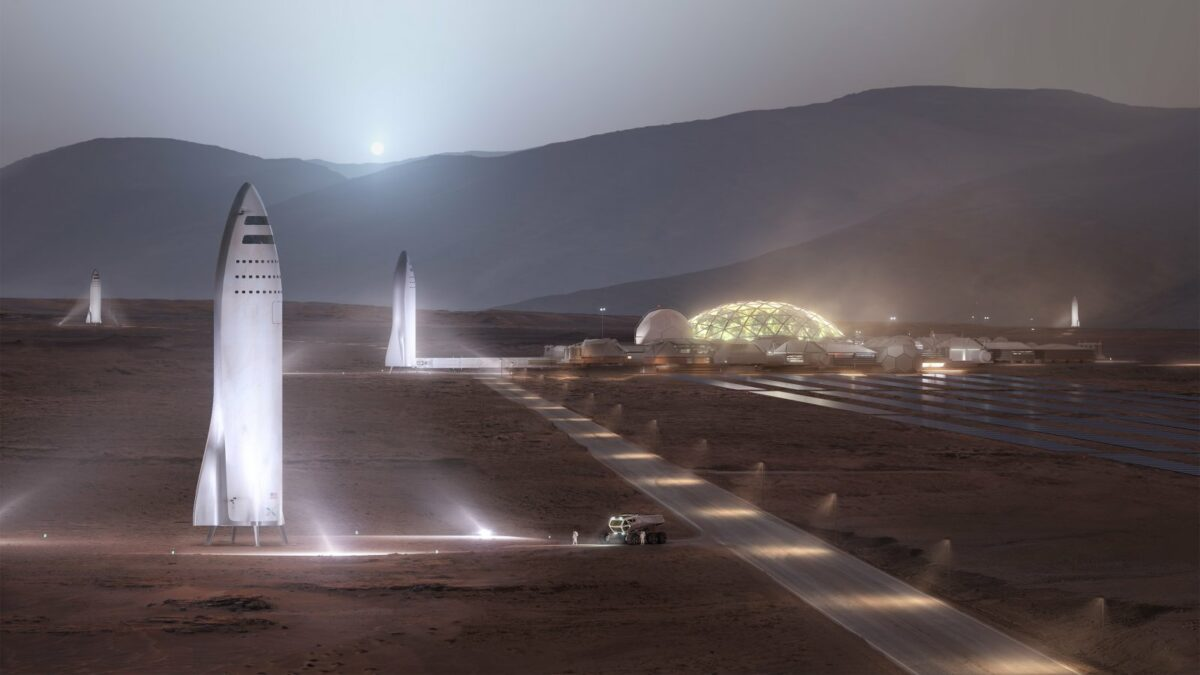 BFRs auf dem Mars
