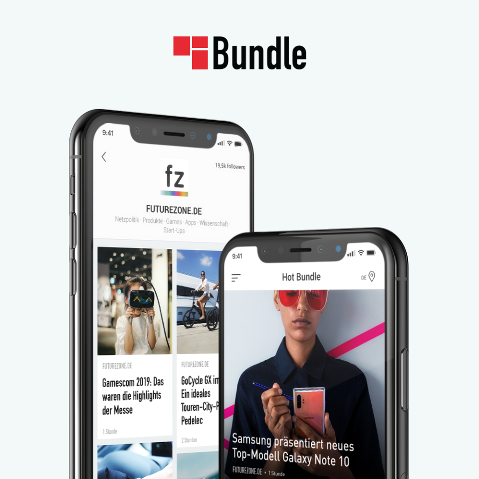 Generiere deinen eigenen News-Feed in Bundle.