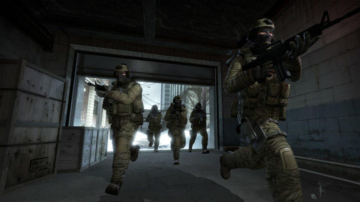 """Counter-Terroristen auf der Map """"Office"""""""