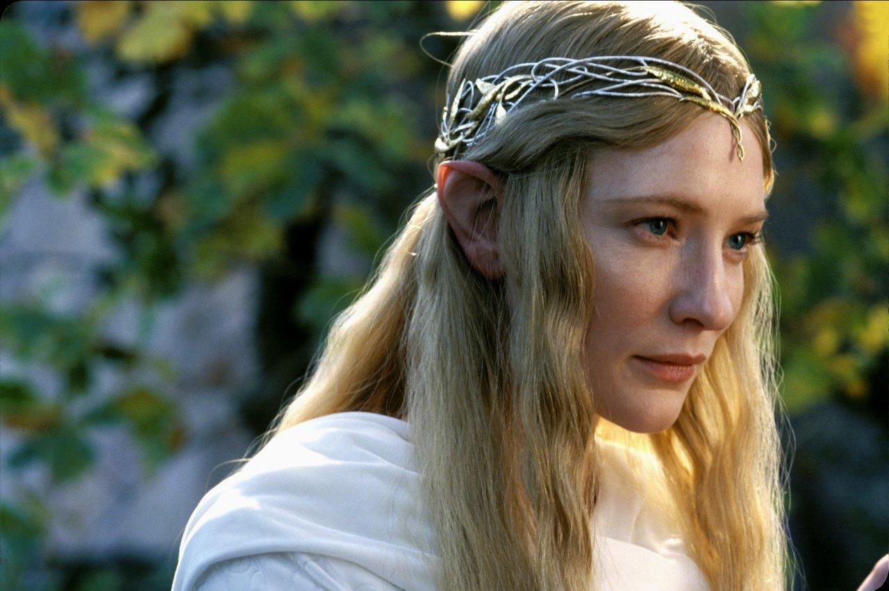 """Unvergessen: Cate Blanchett als Galadriel in den """"Herr der Ringe""""-Filmen von Peter Jackson."""