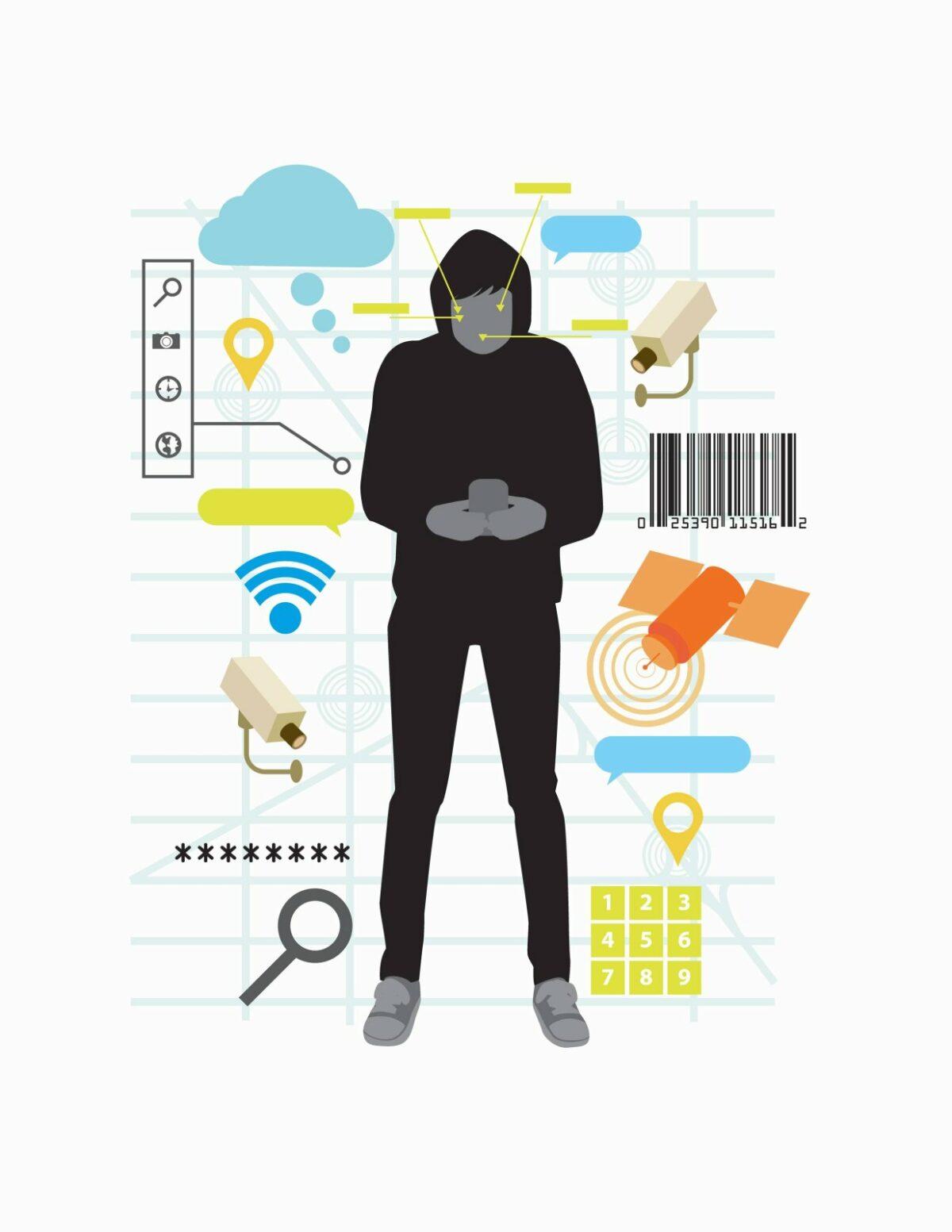 Smartphone-Überwachung (Symbolbild)