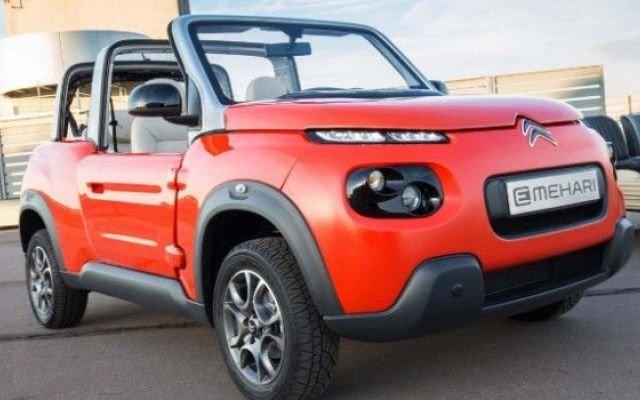 """Dieser """"Buggy"""" von Citroën gehört zu den ungewöhnlichen Vertretern der E-Auto-Gattung."""