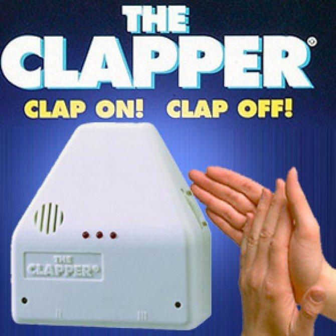 Klatschen statt Reden: Der Clapper.
