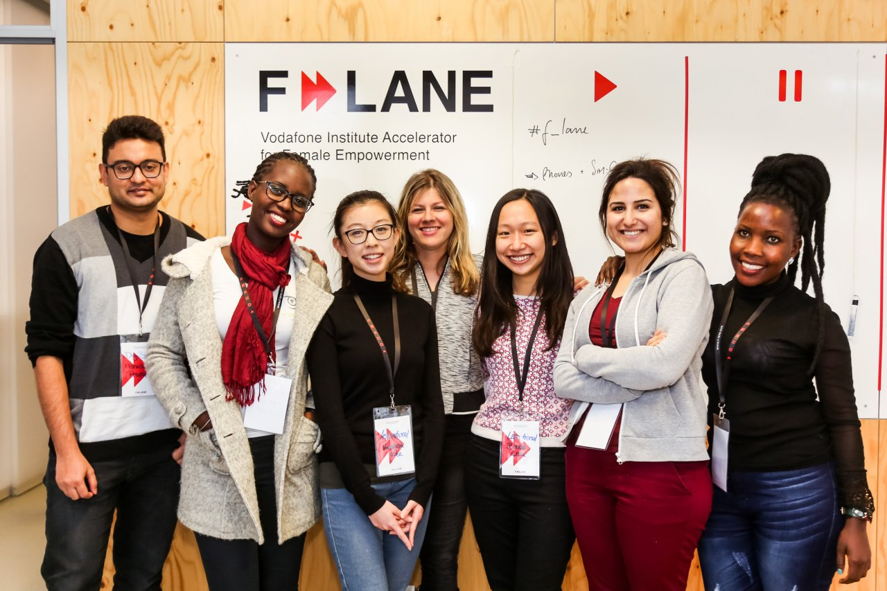 Teilnehmer der erste Runde des F-LANE Accelerators