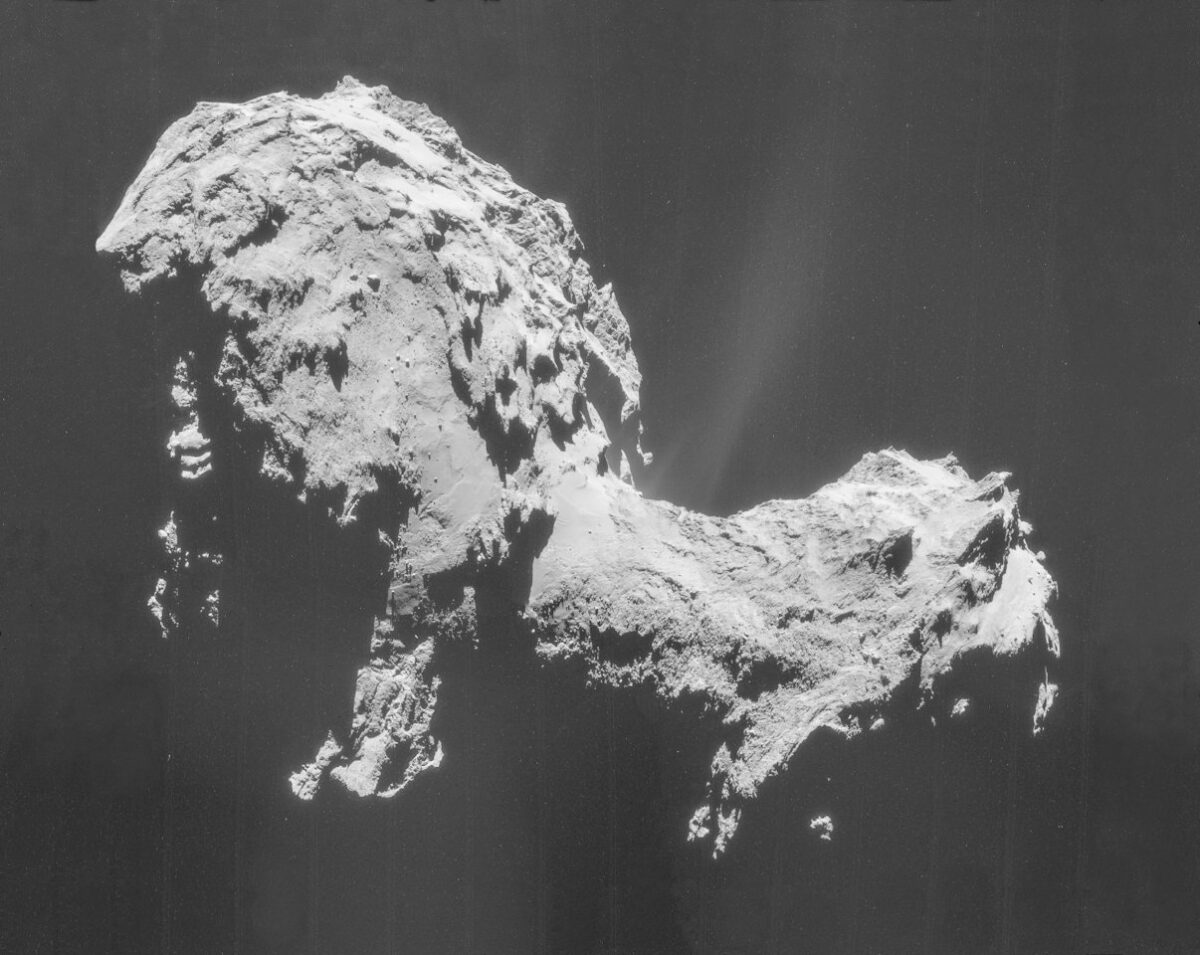 Der Komet Tschurjumow-Gerassimenko.