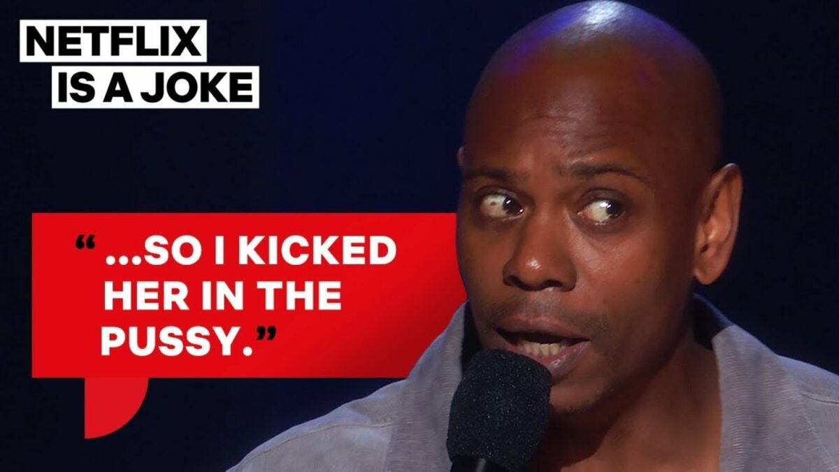 Dave Chappelle Stand-up-Comedy auf Netflix