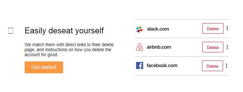 Das Tool listet sämtliche Anwendungen auf, die es zu eurer Person gefunden habt – mit der Möglichkeit, diese direkt zu löschen.
