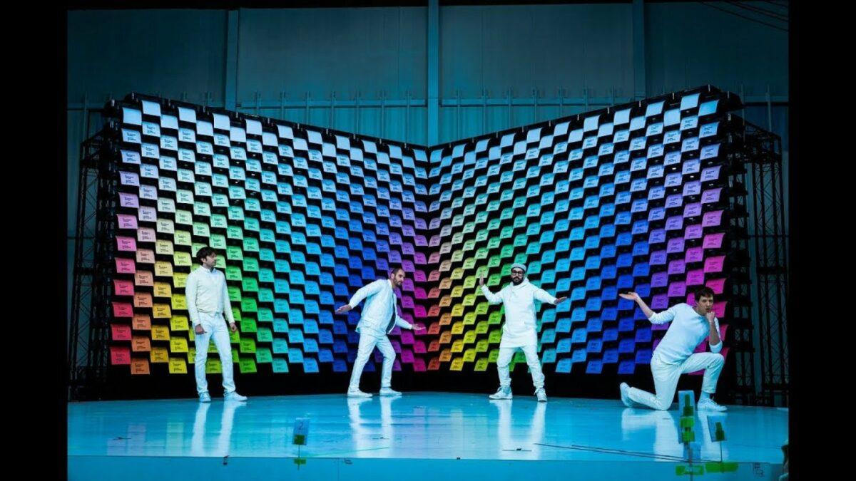 OK Go performt im Video zu Obsession mit Druckern.