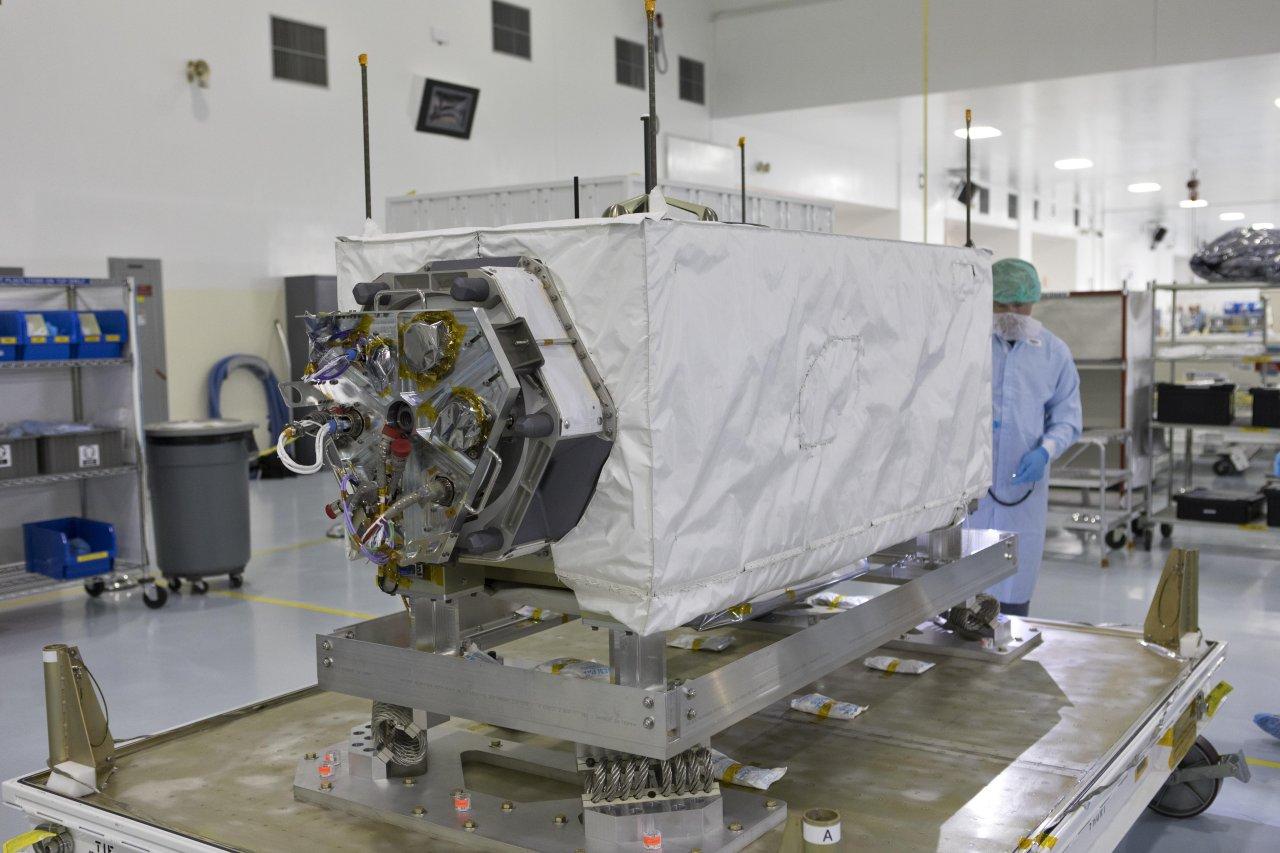Ecostress soll außen an der ISS angebracht werden und das Fieber messen aus dem All übernehmen.