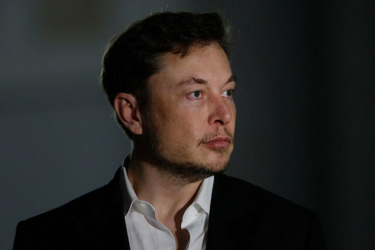 Elon Musk-Portrait