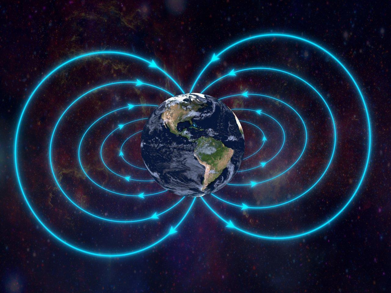 Fällt das Magnetfeld der Erde weg, würde ein Kompass nicht mehr funktionieren.