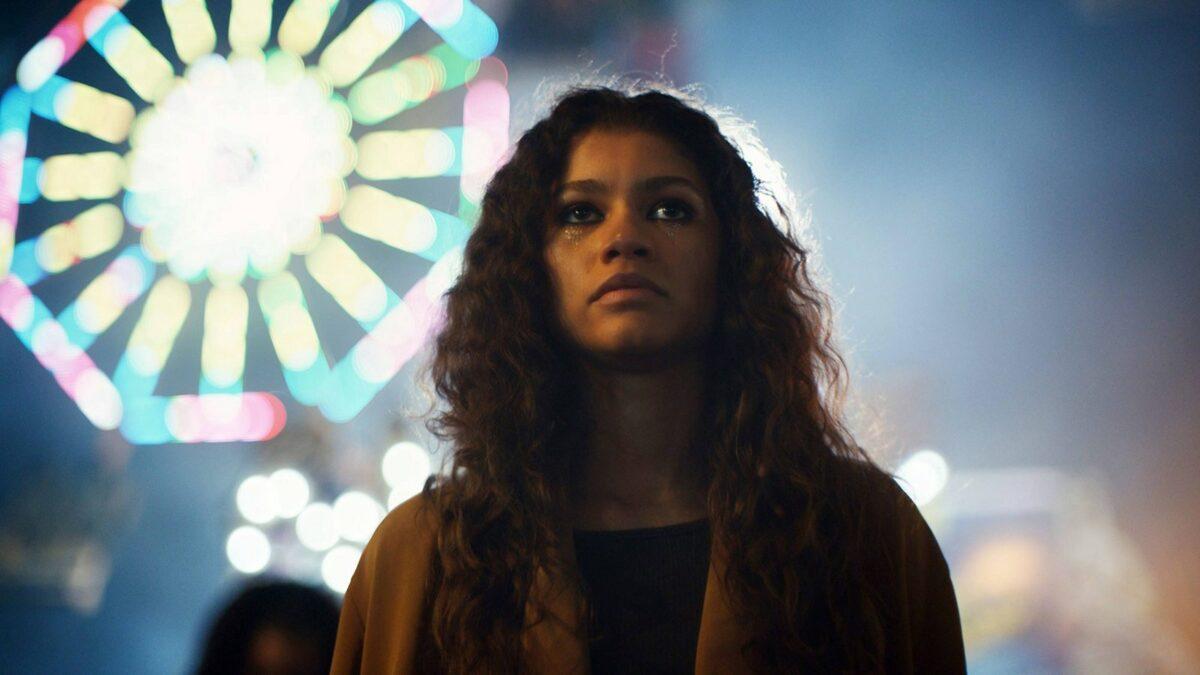 """Zendaya in Rue Bannett in der HBO-Serie """"Euphoria"""""""