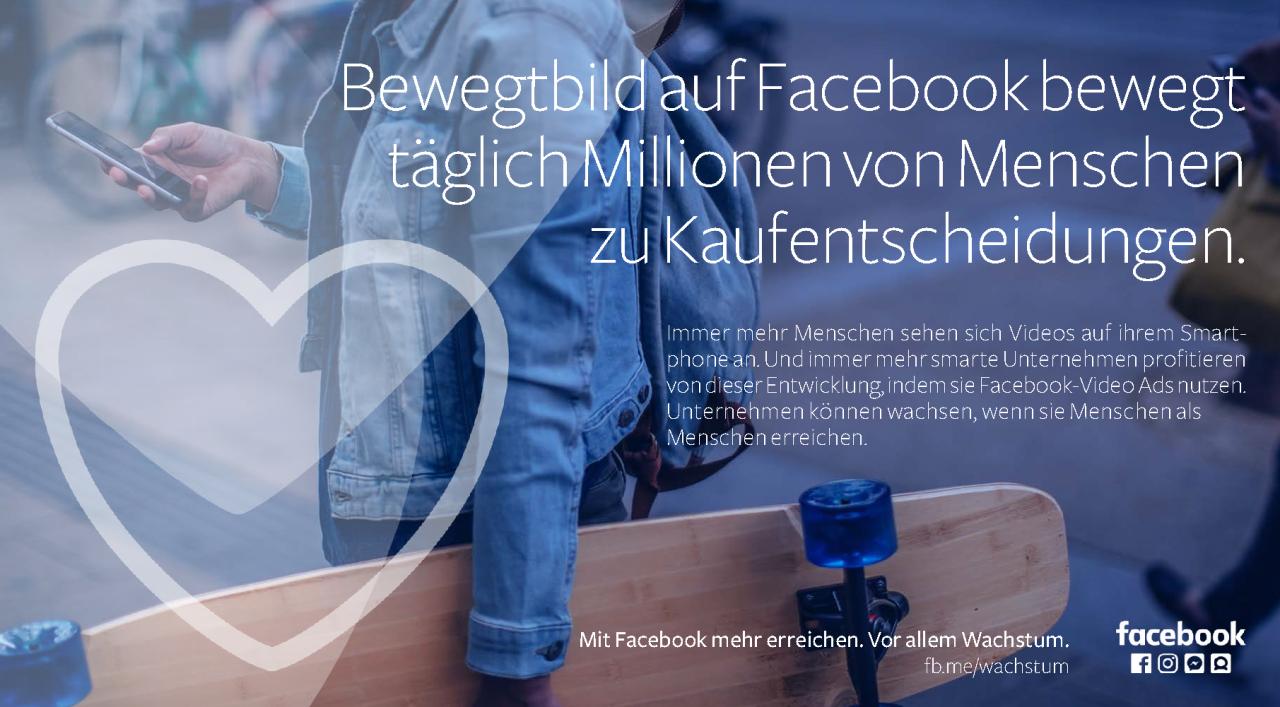 Bekommen wir bald doch wieder mehr Werbevideos in unseren Facebook-Newsfeeds?
