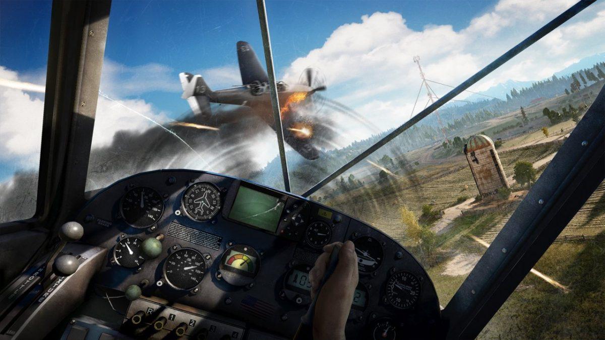 In Far Cry 5 wird auch in der Luft gekämpft.