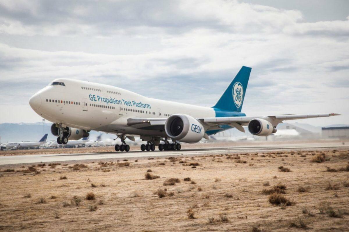 Boeing 777X mit GE9X