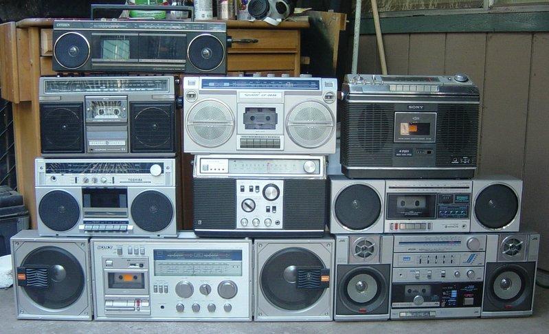 Ghettoblaster: Der Vorgänger der heutigen Bluetooth-Box.