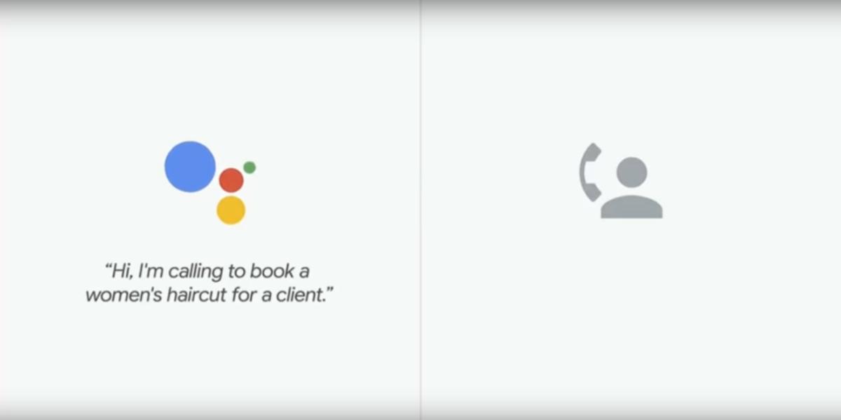 Google Duplex ruft einen Friseur an.