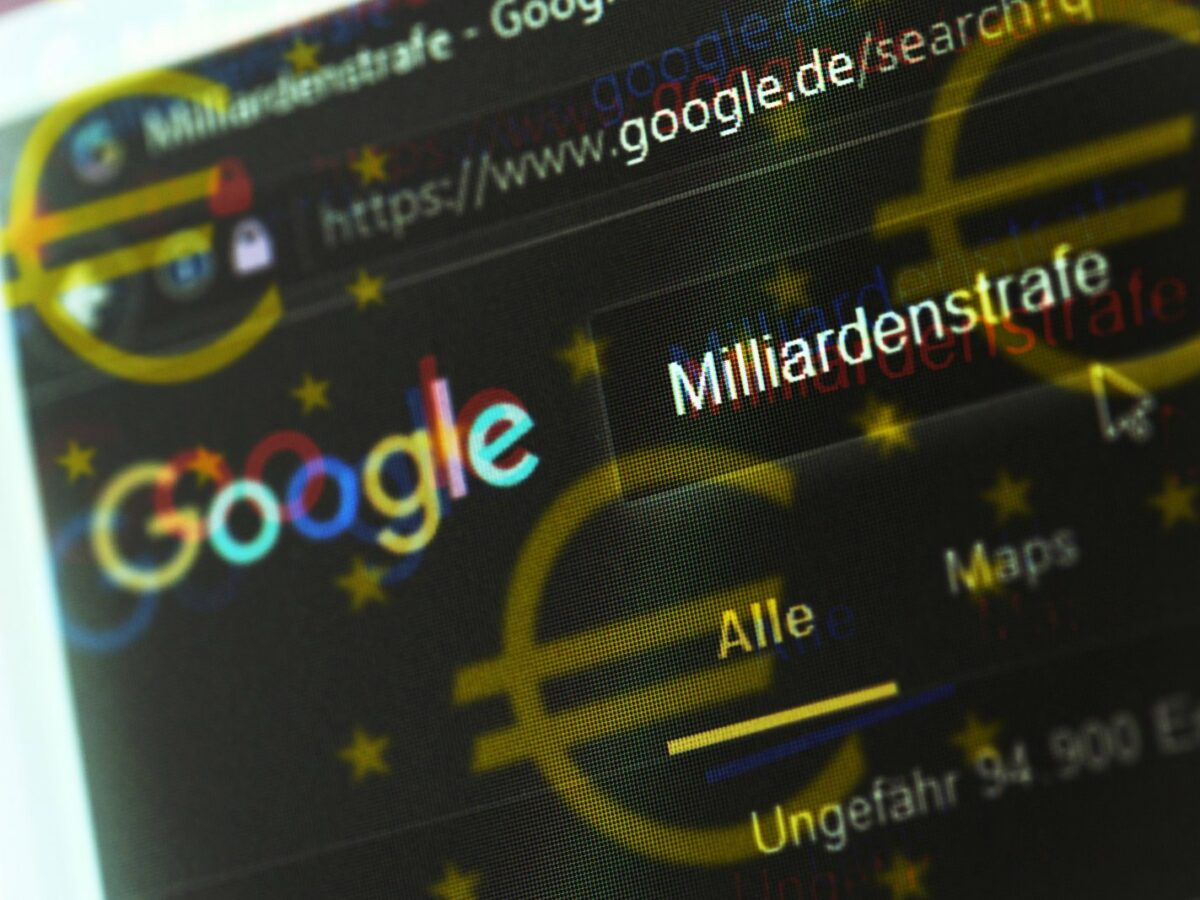 Google Milliardenstrafe