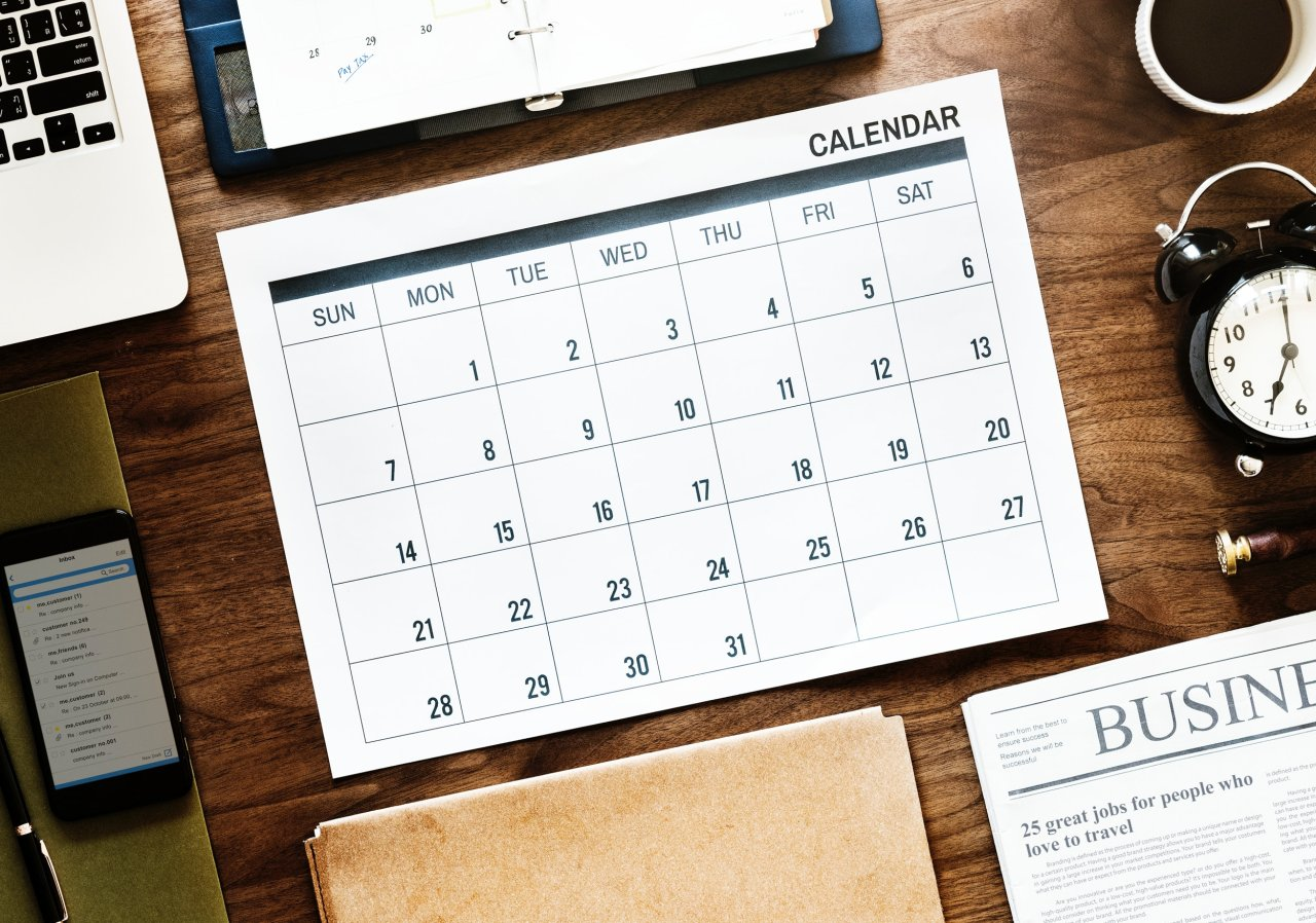 Der richtige Kalender hilft bei deinem Termin-Wirrwarr.