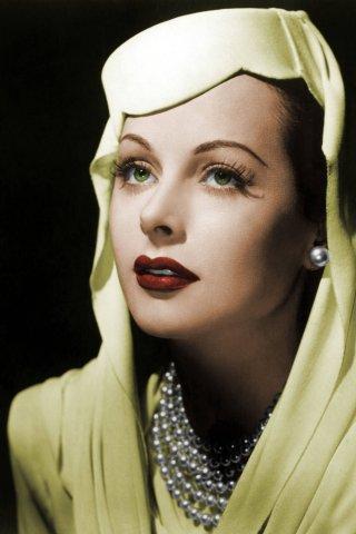 """Hedy Lamarr wurde von einem Regisseur als """"schönste Frau der Welt"""" bezeichnet."""