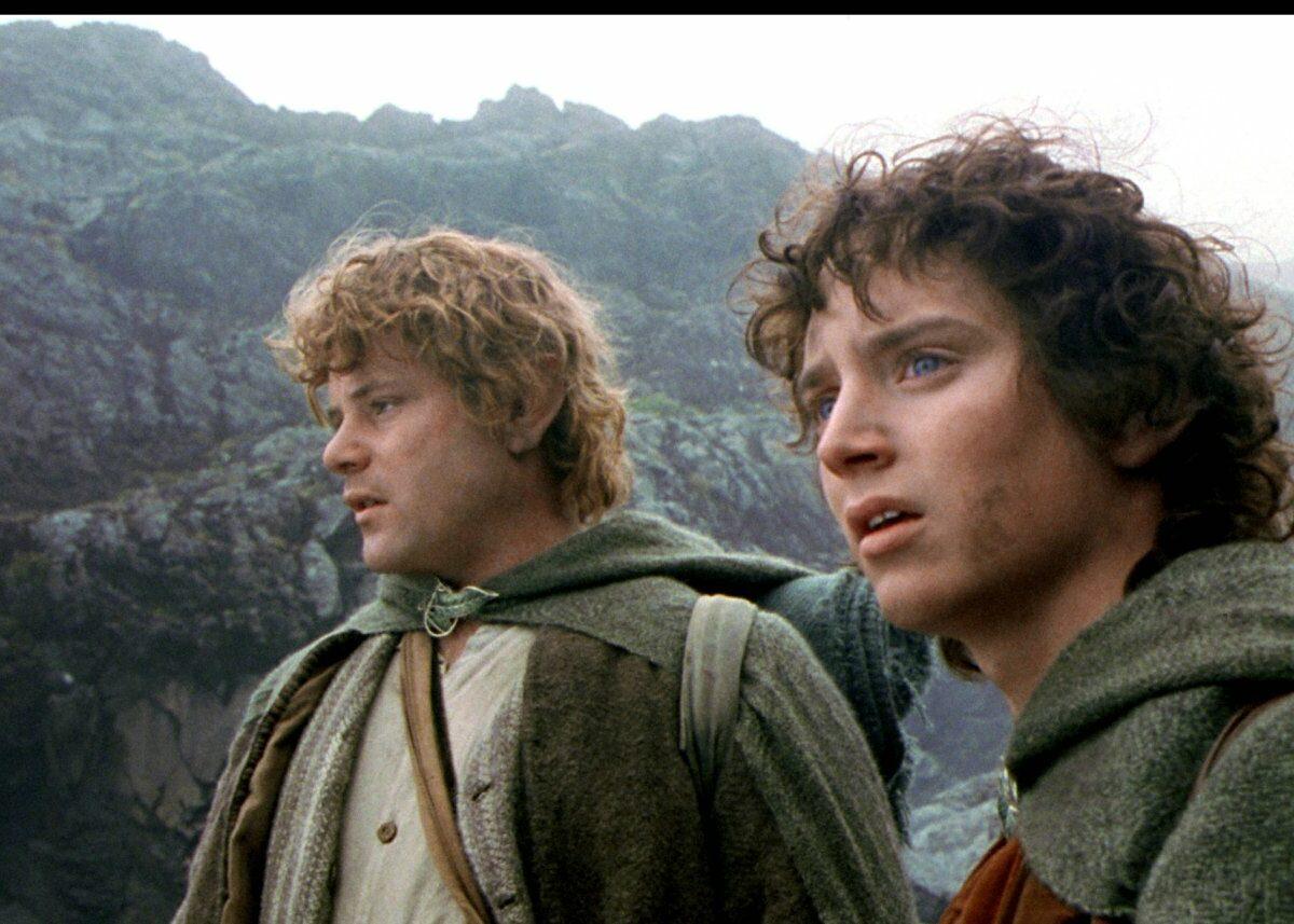 Frodo und Sam Herr der Ringe