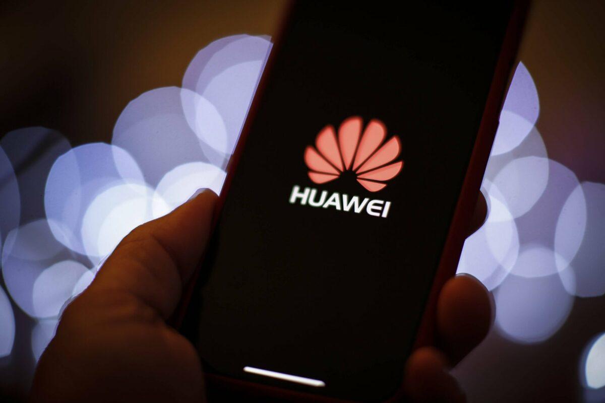 Huawei Handy Logo