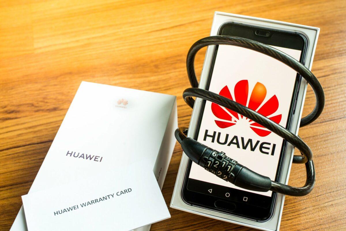 Huawei-Handy in Schloss gefangen