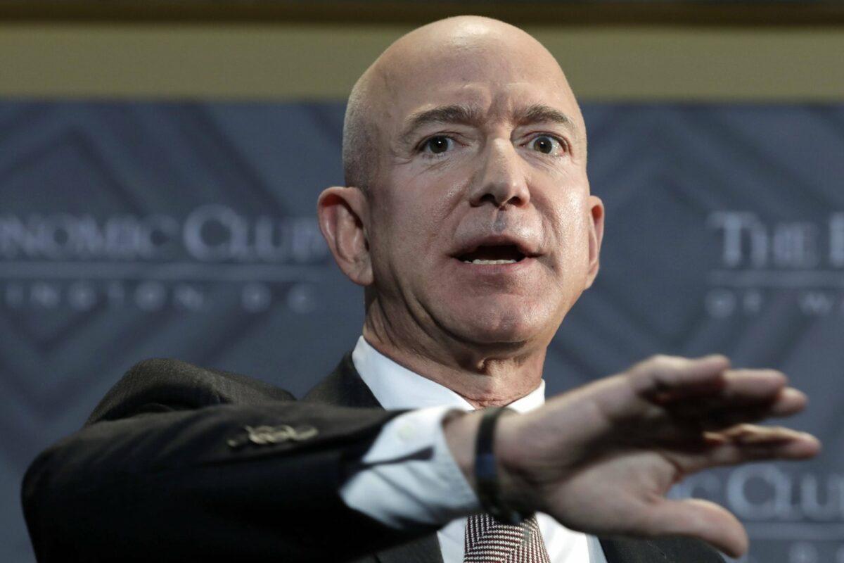 Amazon-CEO Jeff Bezos