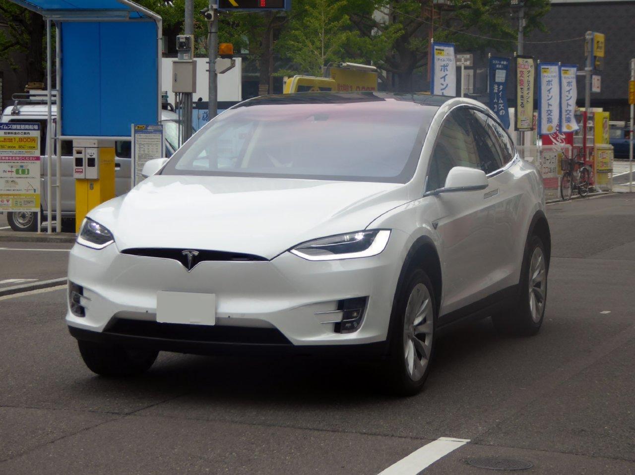 Das Model X ist das erste SUV der Kalifornier.