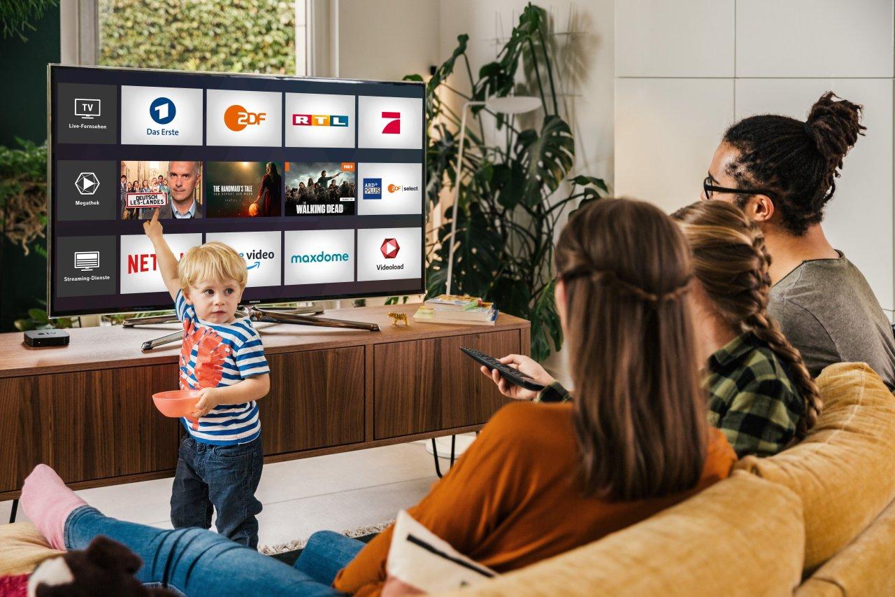 Mit MagentaTV empfängst du diverse Filme, Serien und Sender.