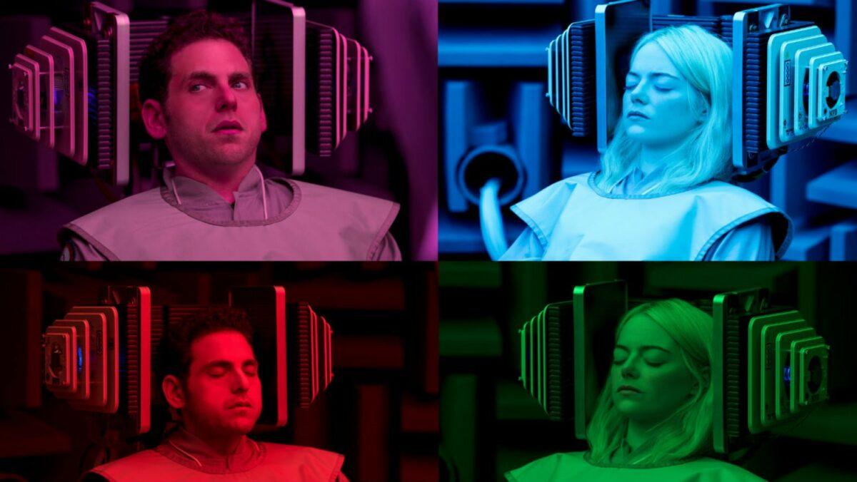 """Emma Stone und Jonah Hill spielen die Hauptrollen in """"Maniac"""" - eine der neuen Netflix-Serien im September 2018."""
