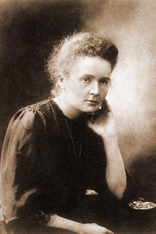 Marie Curie war als Forscherin äußerst aktiv. Sie wies auch radioaktive Strahlung nach.