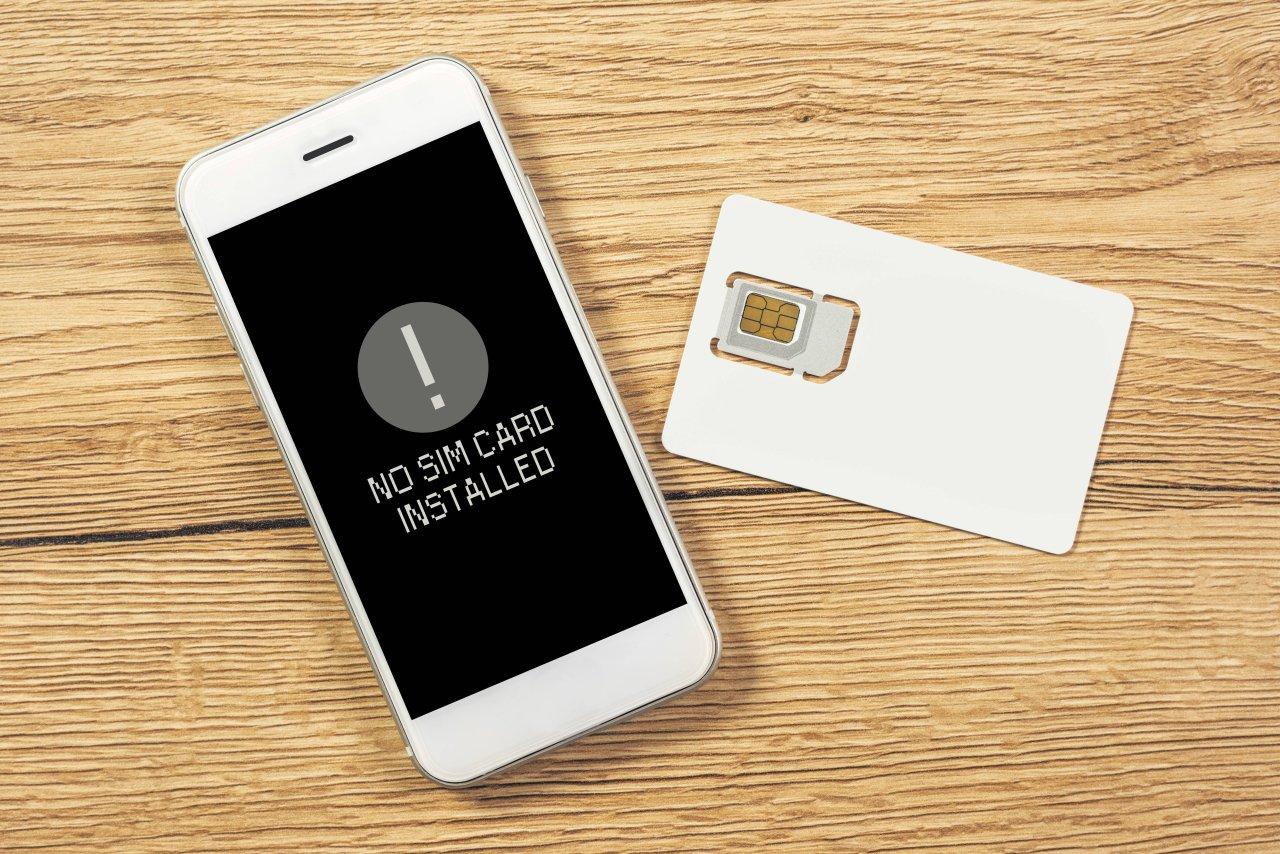 Möglicherweise sitzt deine SIM-Karte locker.