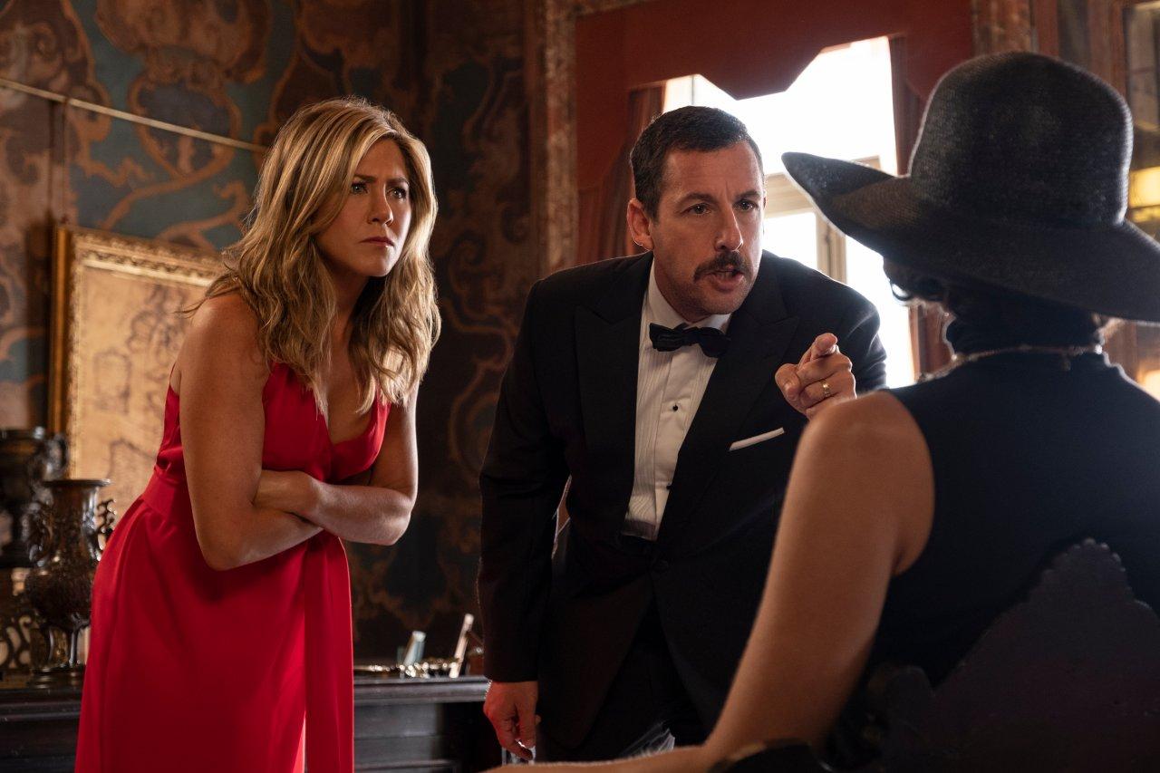 """Netflix Comedy-Mystery Film """"Murder Mystery"""" besticht durch seine hochkarätige Besetzung."""