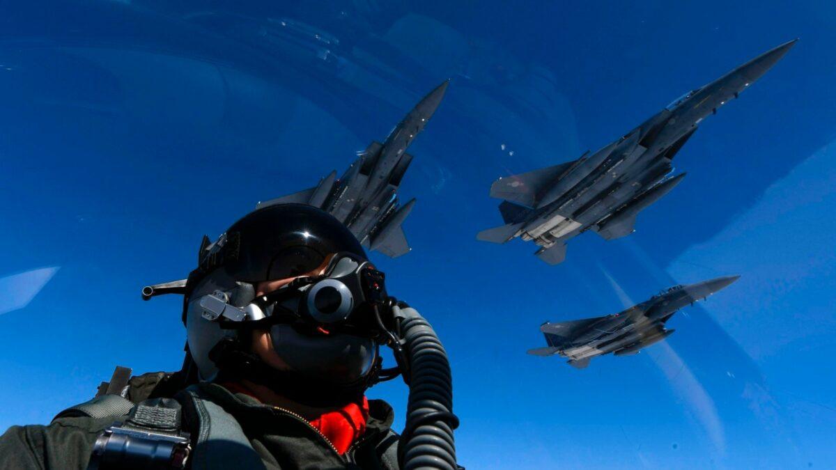 Pilot im Kampfjet