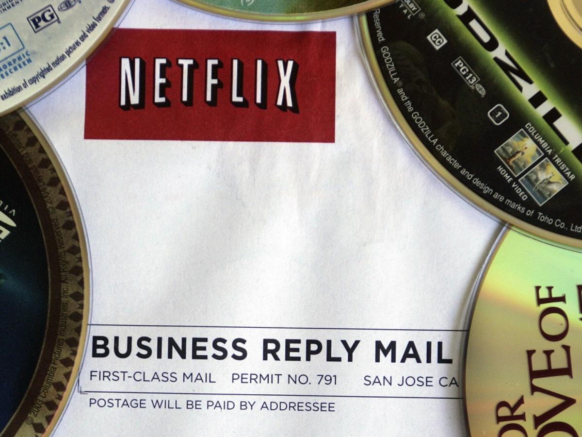 Netflix-Rücksendung von DVDs